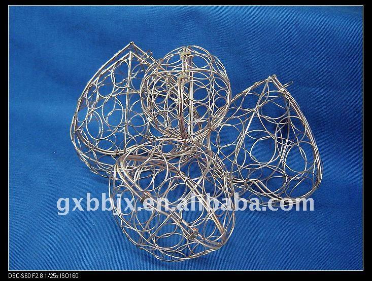 Peach Iron Wire Festival Decoration Handicraft - Buy Peach ...