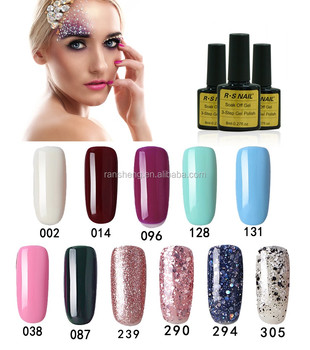 New Color Elegant Nail Art Private Label Gel Polish For