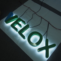 Custom 3D LED endless acrylic channel letters sign and logo for advertising
