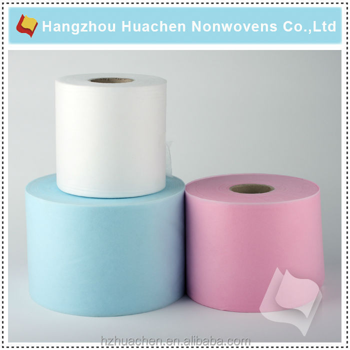 China Factory Directly Cheaest PP Nonwoven Fabrics for Non woven Wiper Rolls Non woven Geotextile Fabric