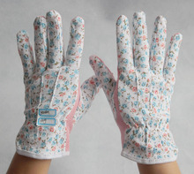 colorful lady garden working gloves for sale