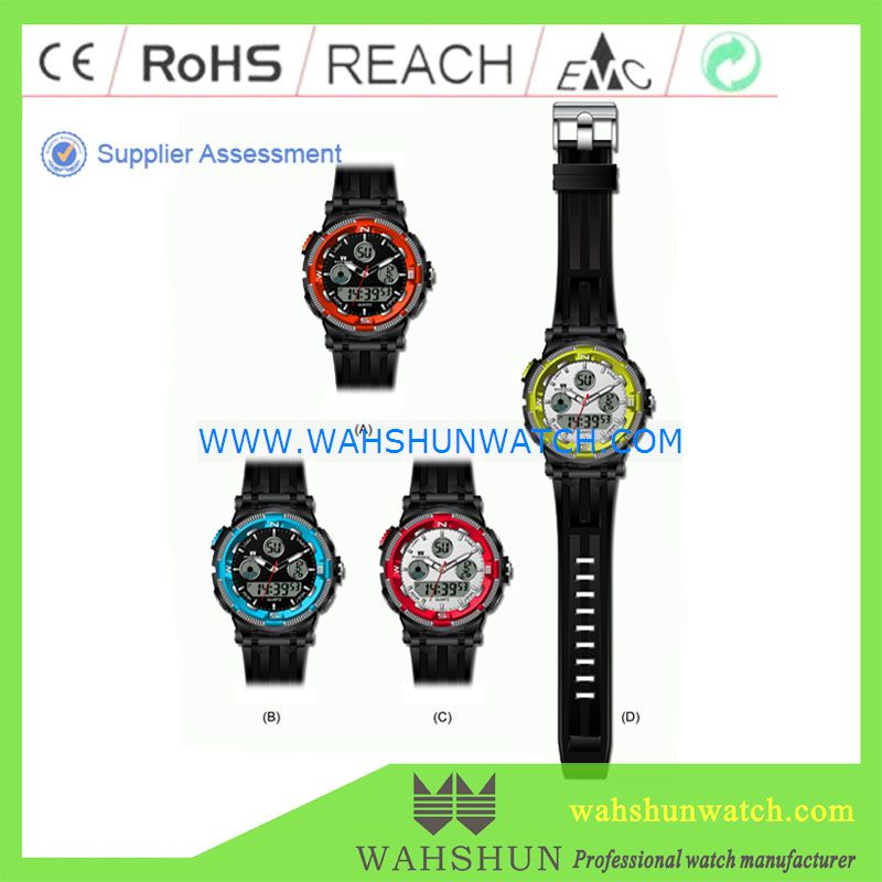 new trending watches fashion men's sport digital wrist watches water resistant 100m