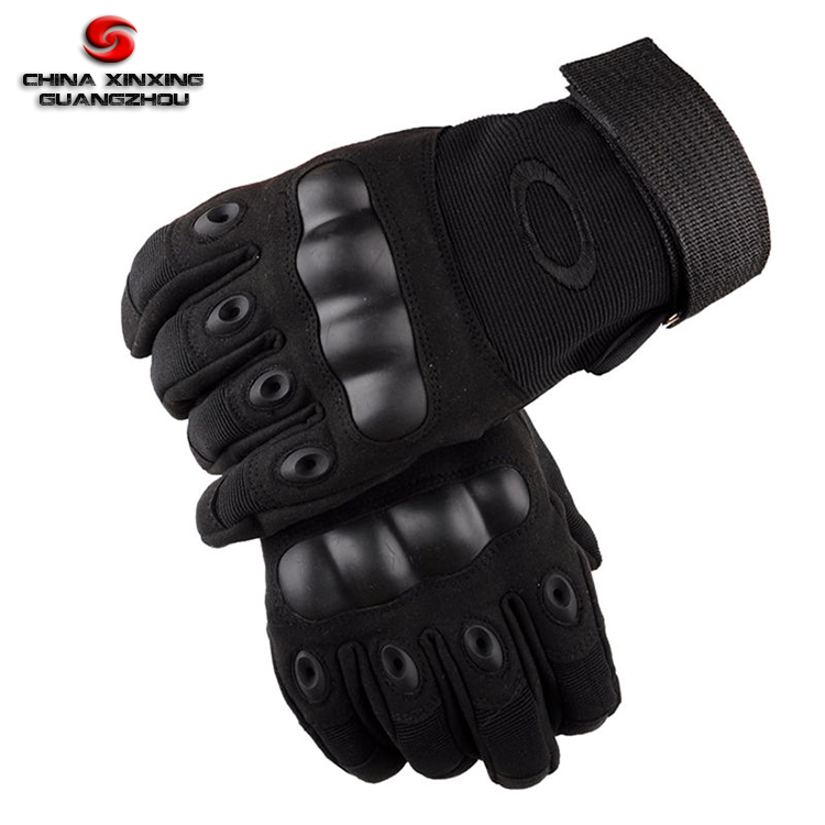 Tactical Hard Knuckle Gloves Goat Skin Leather Full Finger Shooting Army Gloves