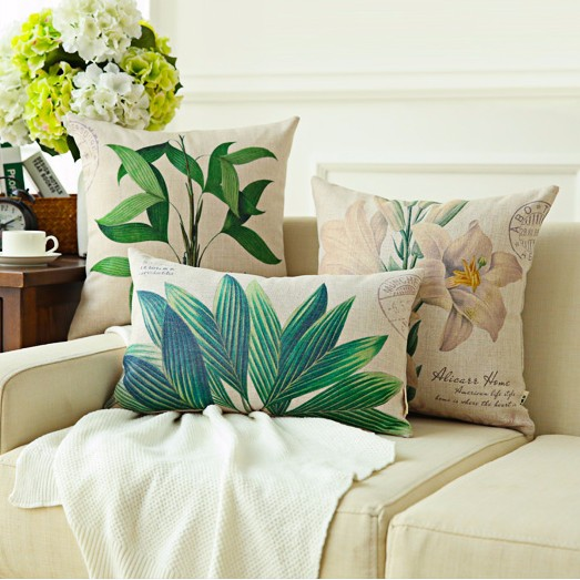 Factory Direct Own Designs Custom Sublimation Printing linen Cushion Cover
