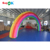 Cheap Rental PVC Inflatable Frankenstein Rainbow Finish Line Arch Gate For Sale