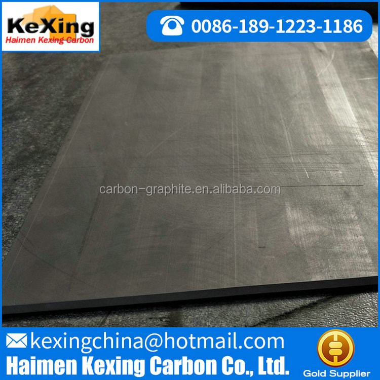 graphite plate for electrode Customized