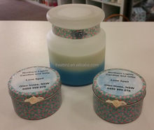 Love Spell Scented Soy Tin Candle and Gifts