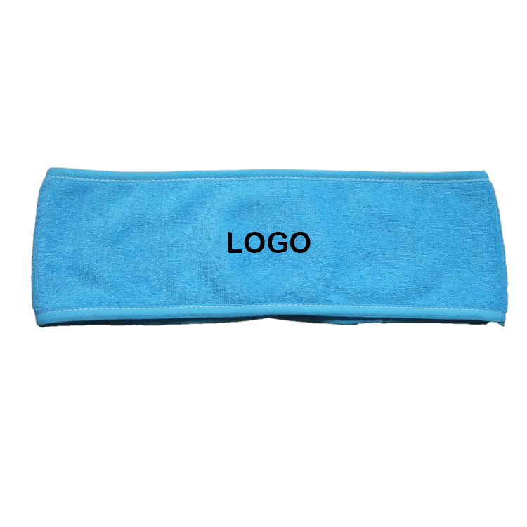 Microfiber Girl Sport Yoga Headband With Woven Logo