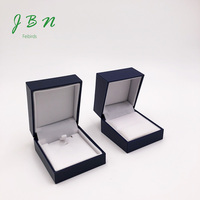 Shenzhen manufacturer custom paper packaging antique royal blue jewelry boxes and organizers Rings Necklaces Bracelets Display