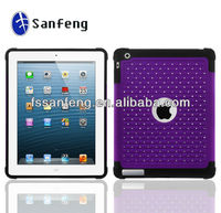 High Quality Bling Gems Smart Cover Case for ipad 2/3/4,for ipad 2/3/4 Case,Combo Protective Case for ipad 2/3/4