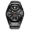 2016 new arrival swiss army style military black watches for men