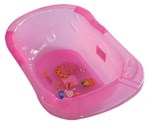 pl stico del beb seguridad ba era con asiento o soporte