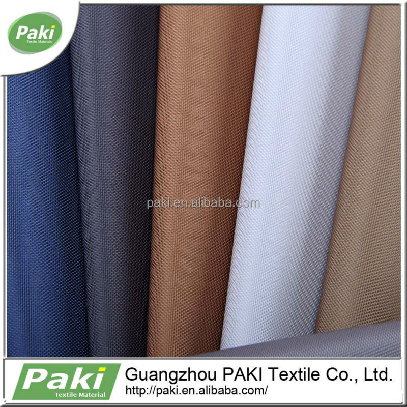 China wholesale 300gsm PU Coated 1200D bedspread fabric for bags