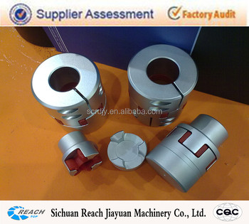 Zero Backlash Elastomer Insert Elastic Shaft Coupling
