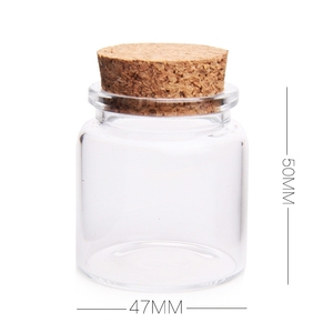 Best Selling 50ml glass tubular vial for seed