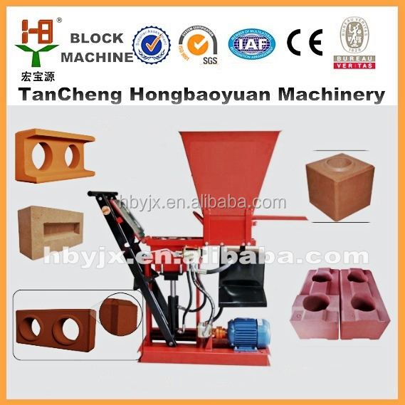 Eco BRB 1-15 interlock brick making machine low investment high profit business