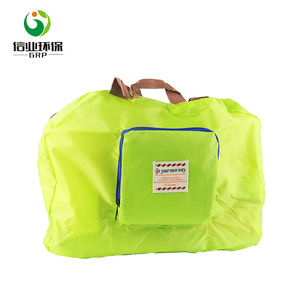 trendy collapsible sports duffle hand carry folding travel bag for men