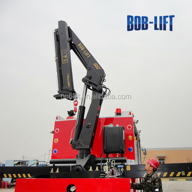 Tractor Hydraulic Boom Crane : Used hydraulic electric truck mounted crane for sale buy