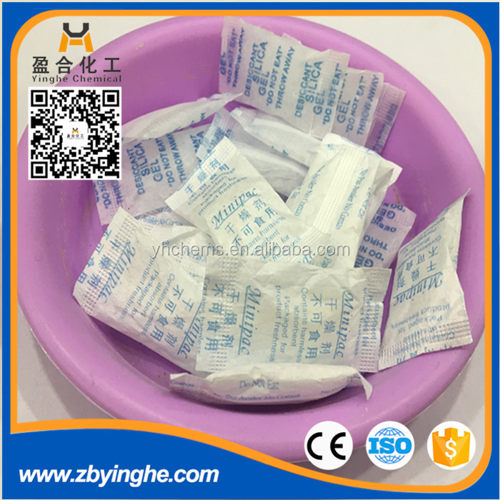 silica gel used in bags, food, medicines,toys, woodworks, instruments, meters, electrical