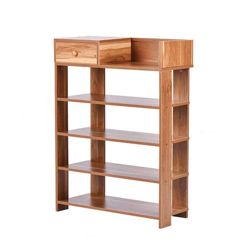 Shoe Rack Multifunctional Modern Minimalist Wooden Shoe Rack Living Room Bedroom Large Capacity Locker With Drawer Shelf 60 25 81.5cm