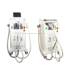 3 in 1 Centro di Bellezza Uso! E Luce IPL RF ND Yag Laser Attrezzature di Bellezza