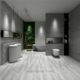 Rustic Porcelain Floor Tile Matt Texture Indoor