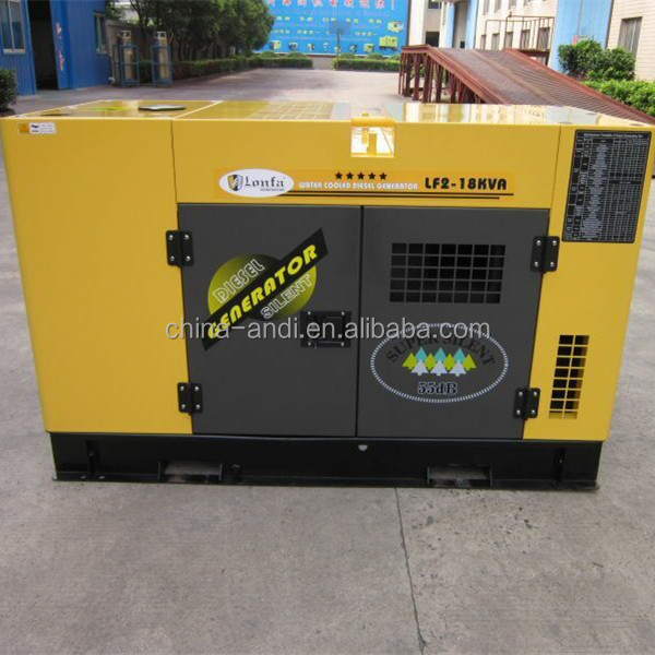 17KVA Yellow Color Ultra Silent Diesel Generator