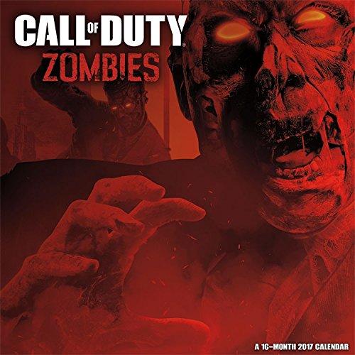 Call of Duty Zombies Calendar 2017 -- Deluxe Call of Duty Wall Calendar (12x12)