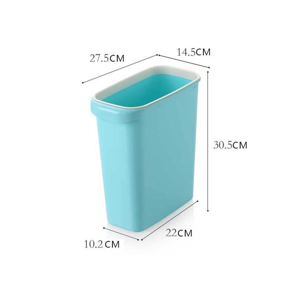 Buy Plastic Dustbin Without Cover For Household Use Bathroom Trash Can Bedroom Kitchen Garbage B In Cheap Price On Alibaba Com