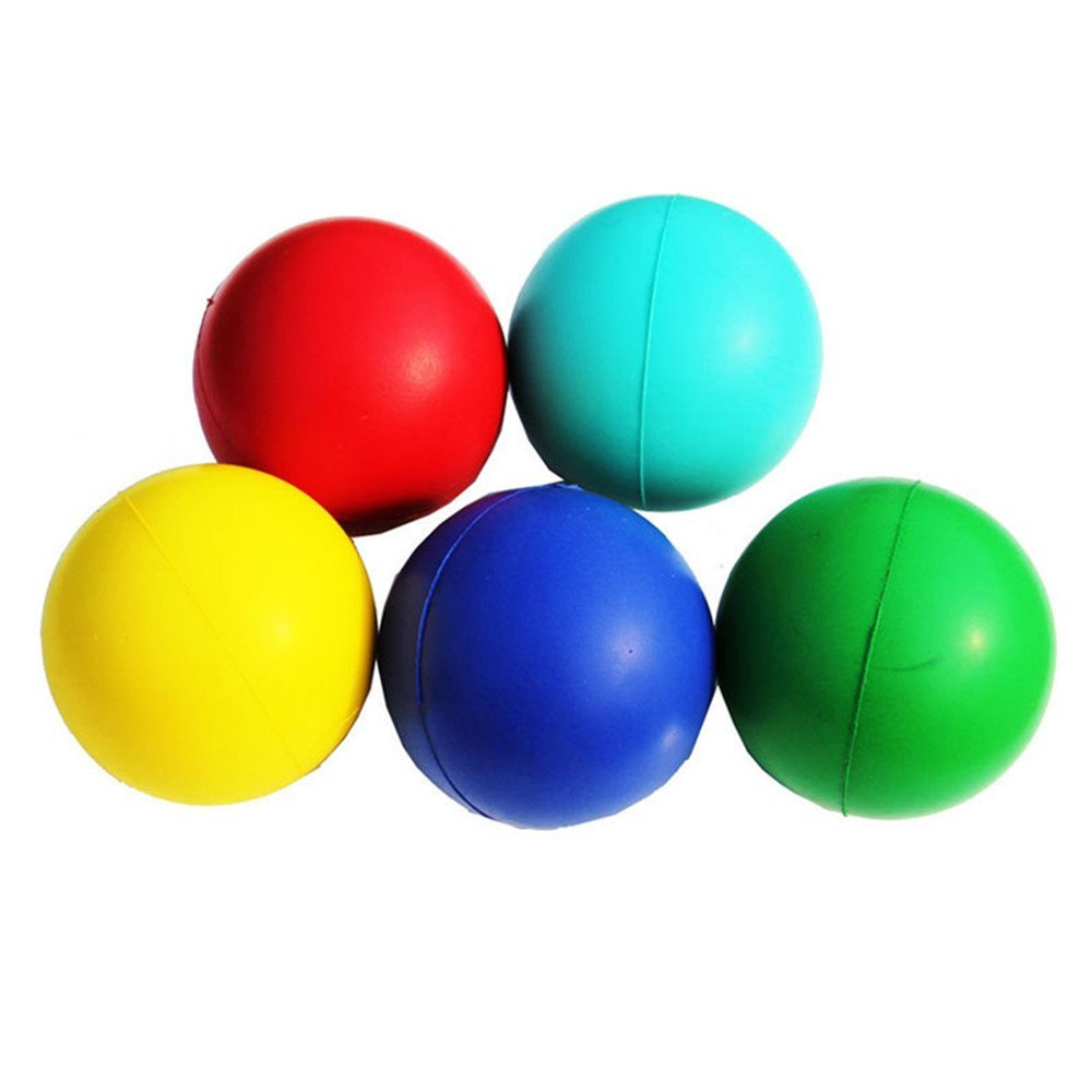 Aamina Toy Cubby Realistic Foam Sports Play Balls - 5 pcs