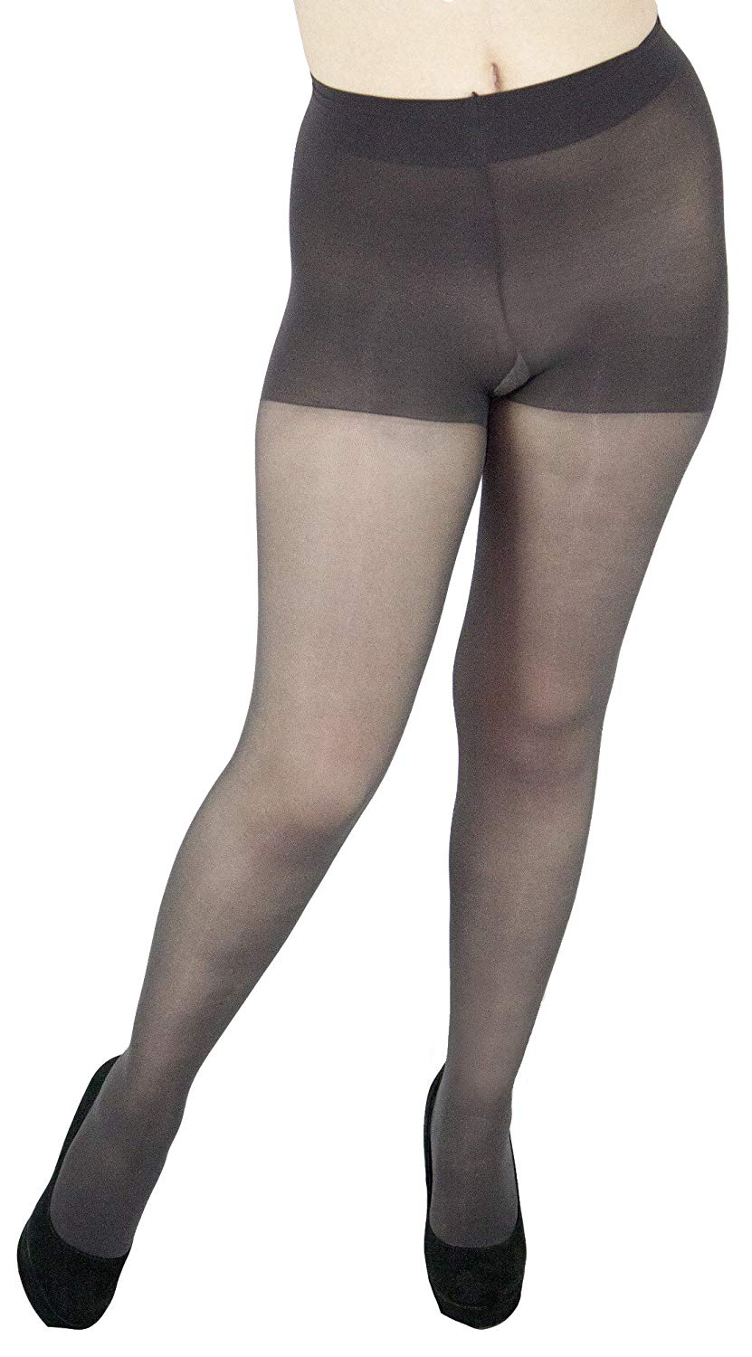 5fee432ee Get Quotations · Leggs Womens Sheer Energy Control Top Tights (Queen Plus