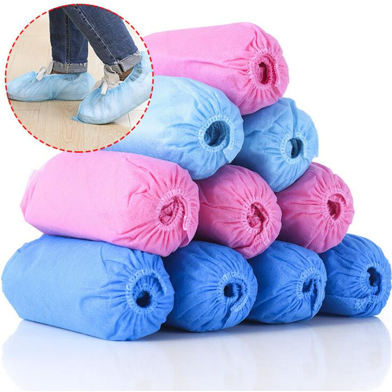 Universal Size Men Women Slipcover Home Indoor Cleaning Overshoes Disposable Shoe Covers