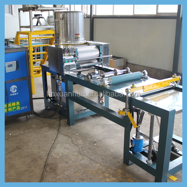 high-tech model!capacity 20kg/h full-automatic bee wax foundation machine/bee wax printer foundation sheet machine