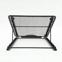 Wholesale promotional powder coated office school supply desktop table metal mesh adjustable mini laptop stand