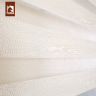 Eco friendly antibacterial sunscreen zebra roller blind fabric