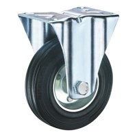 SSFD 200mm Rubber Wheels 8 inch HOT European Style Caster