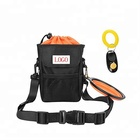 Waterproof Pet Dog Treat Training Pouch Bag with Waist Belt Shoulder Strap& Collapsible Dog Bowl
