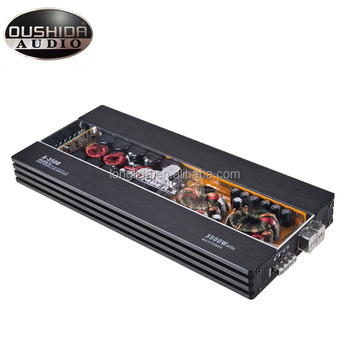 Made In China Power Amplifier Customer Rms Power Car Audio Sound