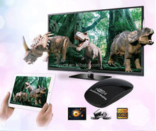 TV Receiver Wireless share pictures music video Streaming from small screen of smart phone to big screen