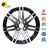 18 inch 5 hole 12 spoke aluminum replica alloy wheel 5x130
