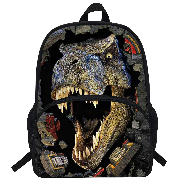 2ce26518c03 ... Bag Animal Printing Backpack For  outlet store 4f38e 54875 3d Dinosaur  Backpack For Boys Children Backpacks Kids Kindergarten Small Schoolbag Girls  ...