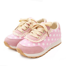 Hot Sale Latest Fashion Hot Sale Kids Red Rose Girls Princess Flat Shoes