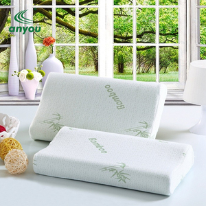 2018 hot sale bamboo material memory foam bed sleeping pillow