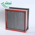 Stainless steel aluminum galvanized frame heat resistant hepa air filter
