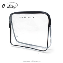Damen Günstige Preis Sublimation Transparent Klar Pvc Reise Make-Up Kosmetik Tasche Mit Zipper