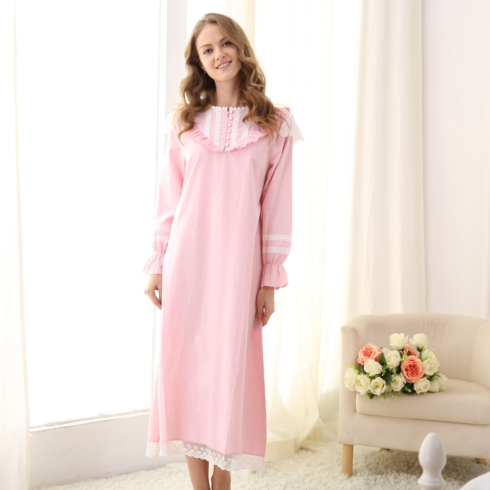 a64776698d women s cotton long sleeveless nightgown women s cotton long sleeveless  nightgown ...