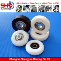 All kinds of cylindrical / spherical / U groove / V groove ring plastic coated bearing 696zz