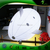 Custom Inflatable Helium Remote Control Airship / RC Inflatable Blimp With Led Lighting
