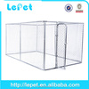 Wholesale chain link outdoor dog run fence dog kennel with roof