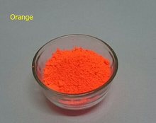 Hot sale NEON Orange Color Fluorescent Pigment Phosphor Powder 50g lot Decoration Powder Fluorescence For Nail